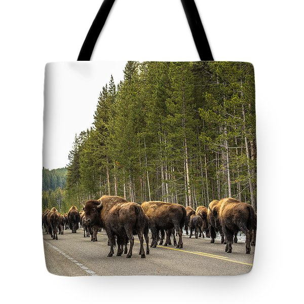 Tote Bag featuring the photograph See You In Spring by Yeates Photography