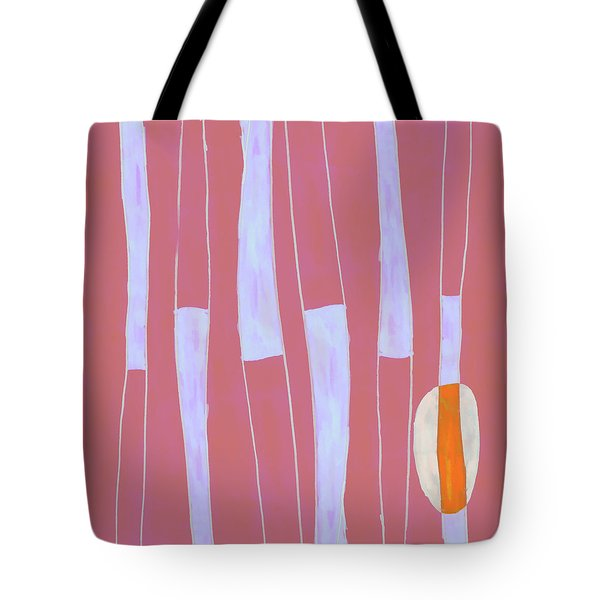 Seed Of Learning No. 4 Tote Bag by Carol Leigh