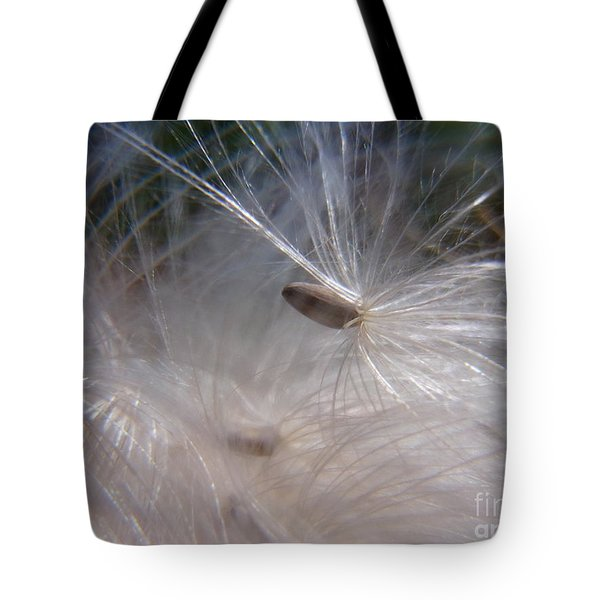 Tote Bag featuring the photograph Seed Of Life by Agnieszka Ledwon