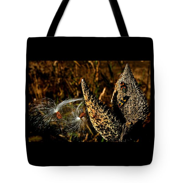 Seeds In The Wind Tote Bag