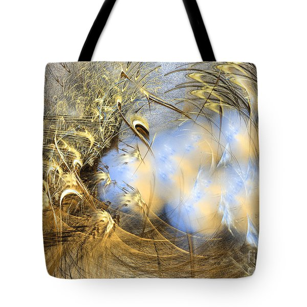 Seeds Of Peace -abstract Art Tote Bag