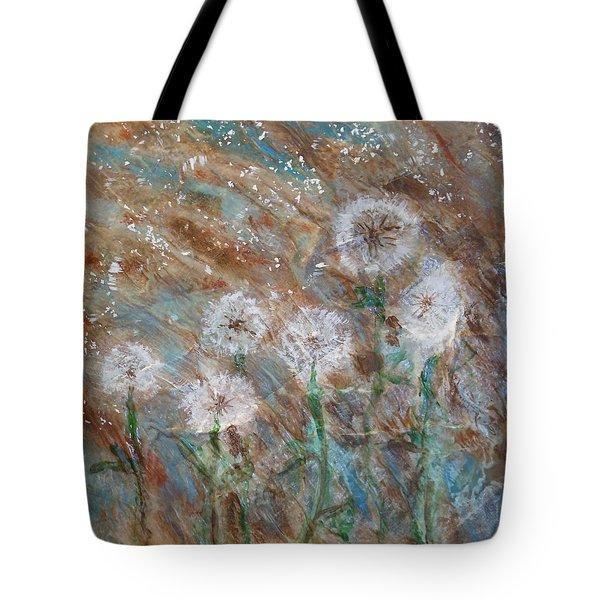 Seeds Of Spring Tote Bag