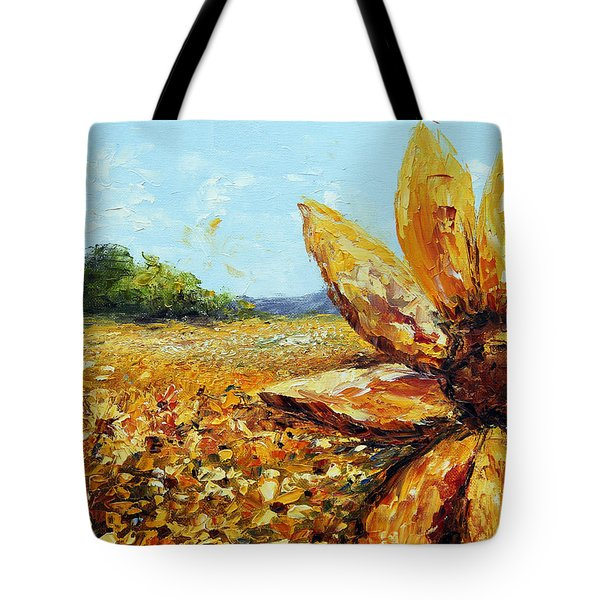 Seeing The Sun Tote Bag