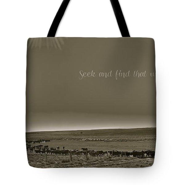 Seek And Find Tote Bag