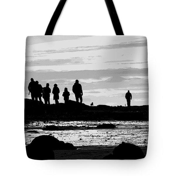 Seeker Silhouette Tote Bag