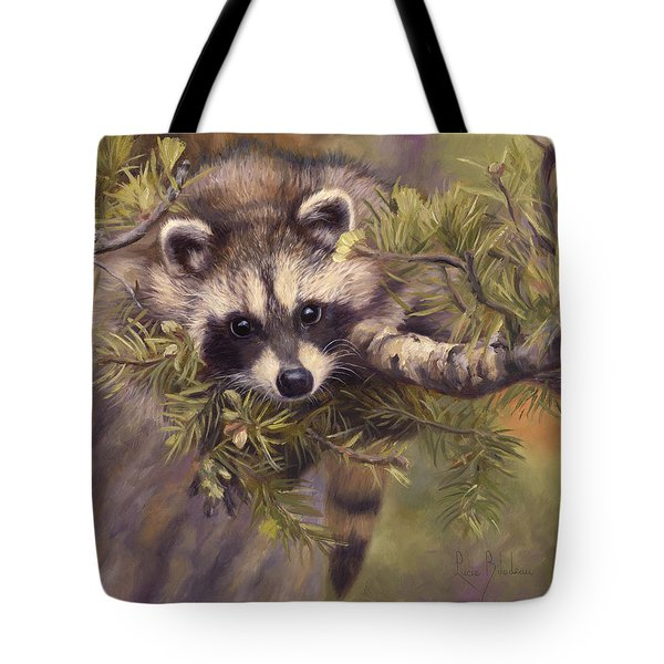 Seeking Mischief Tote Bag by Lucie Bilodeau