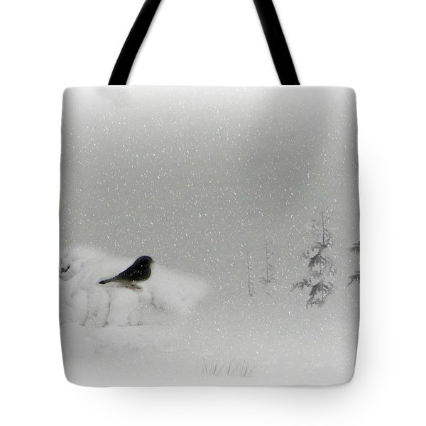 Seeking Shelter Tote Bag