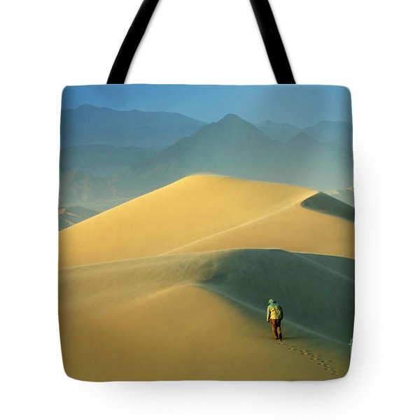 Seeking Solitude  Tote Bag by Bob Christopher