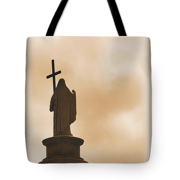 Tote Bag featuring the photograph Seeking The Divine by Nadalyn Larsen