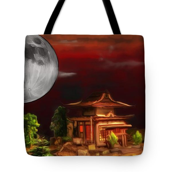 Seeking Wisdom Tote Bag