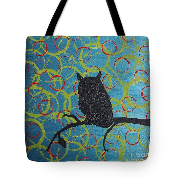 Tote Bag featuring the painting Seer by Jacqueline McReynolds