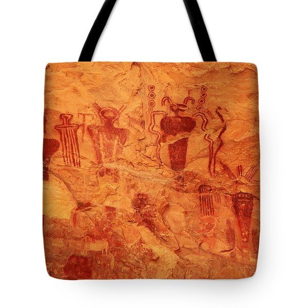 Sego Canyon Rock Art Tote Bag