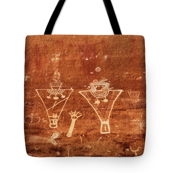 Sego Canyon Rock Art Tote Bag