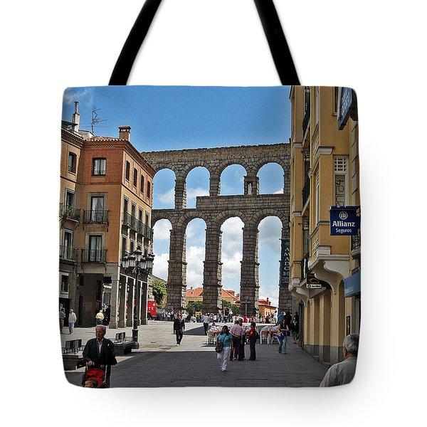 Segovia Spain Tote Bag