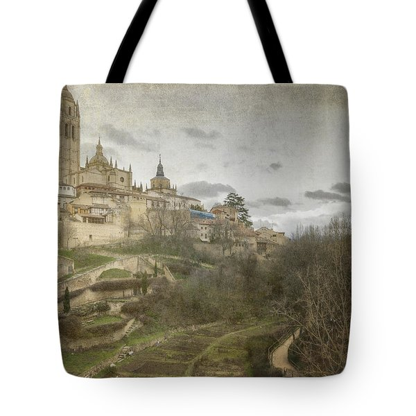 Segovia View Tote Bag by Joan Carroll