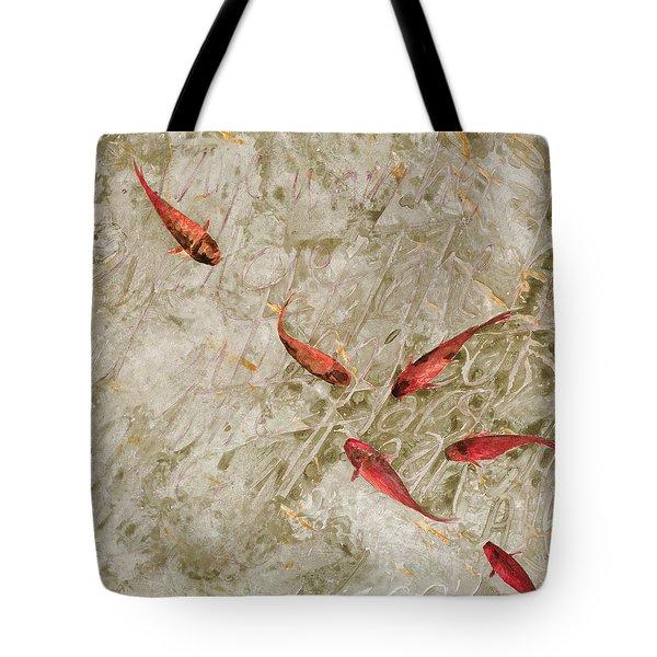 Sei Pesci Rossi   Tote Bag