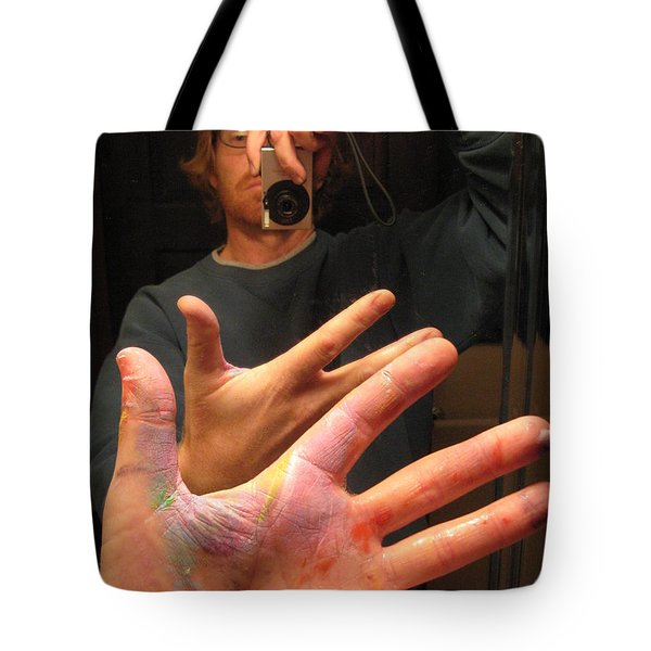 Self Photo Portrait Tote Bag