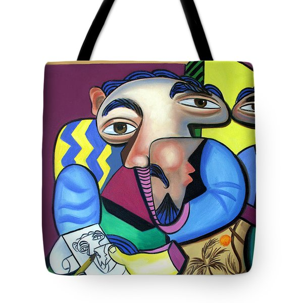 Self Portrait 101 Tote Bag by Anthony Falbo