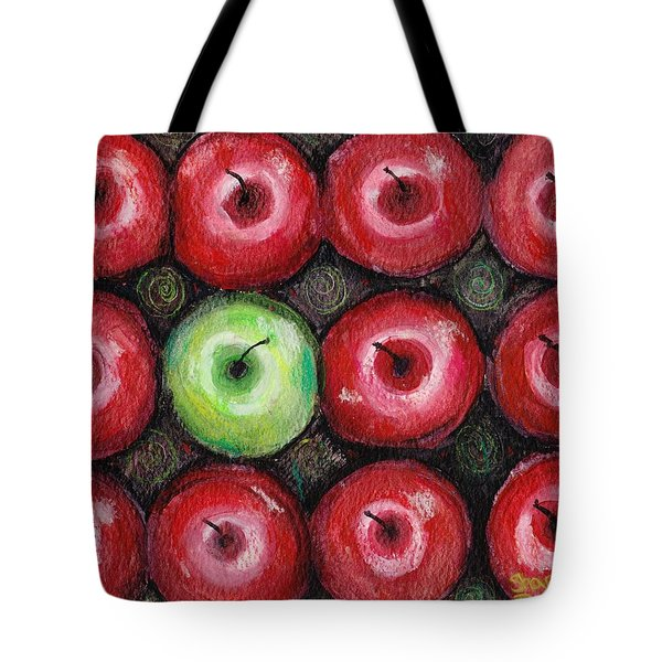 Tote Bag featuring the painting Self Portrait 2 by Shana Rowe Jackson