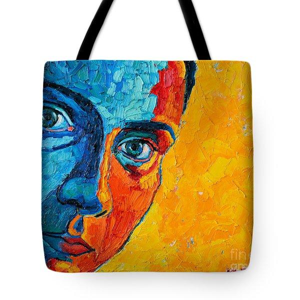 Self Portrait Tote Bag by Ana Maria Edulescu