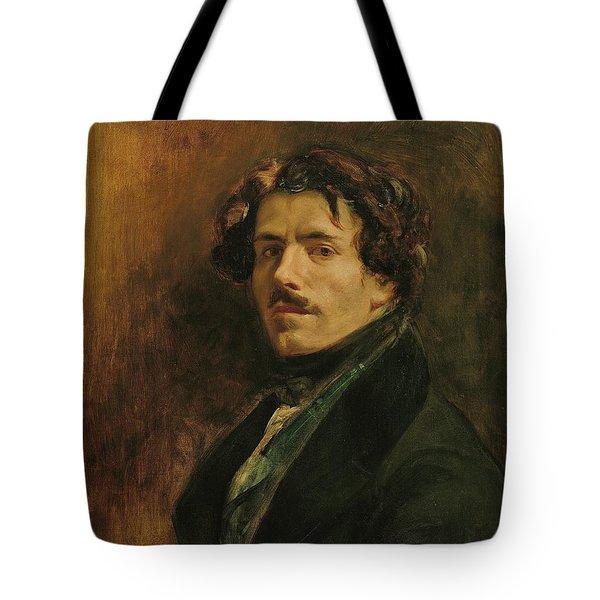 Self Portrait, C.1837 Oil On Canvas Tote Bag