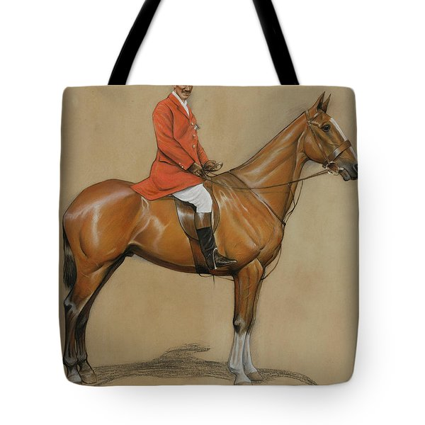 Self Portrait  Tote Bag by Cecil Charles Windsor Aldin