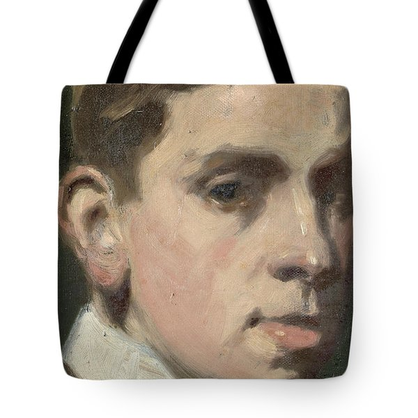 Self Portrait Tote Bag by Francis Campbell Boileau Cadell