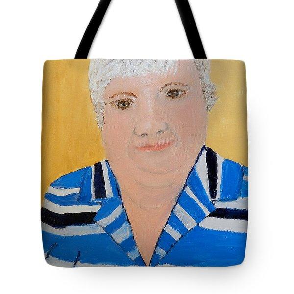 Self Portrait Tote Bag by Pamela  Meredith