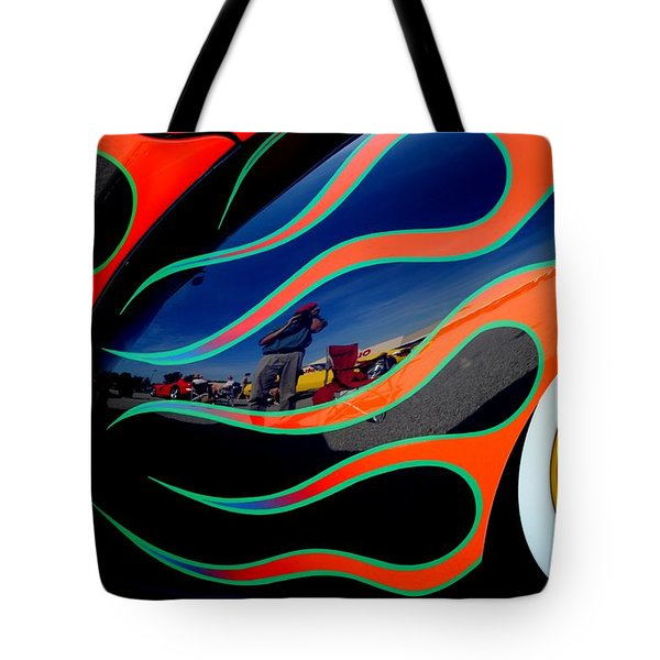 Self Shot Tote Bag by Frozen in Time Fine Art Photography