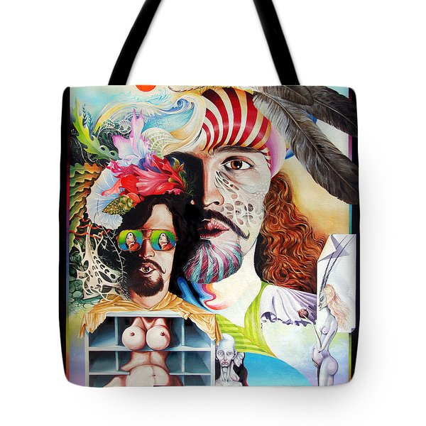 Selfportrait With The Critical Eye Tote Bag