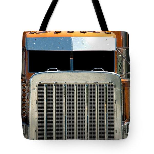 Semi Truck Tote Bag