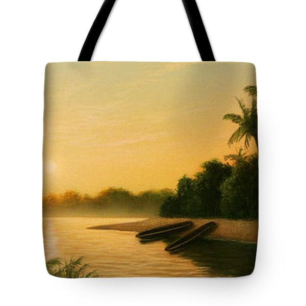 Seminole Sunset Tote Bag
