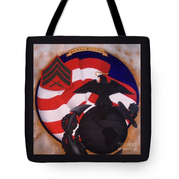 Semper Fidelis Tote Bag by D L Gerring