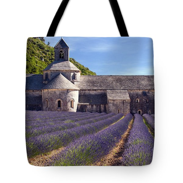 Senanque Abbey Tote Bag by Bob Phillips