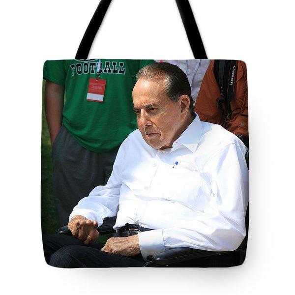 Senator Bob Dole Tote Bag by Cora Wandel