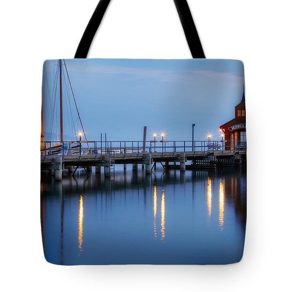 Seneca Lake Tote Bag by Bill Wakeley