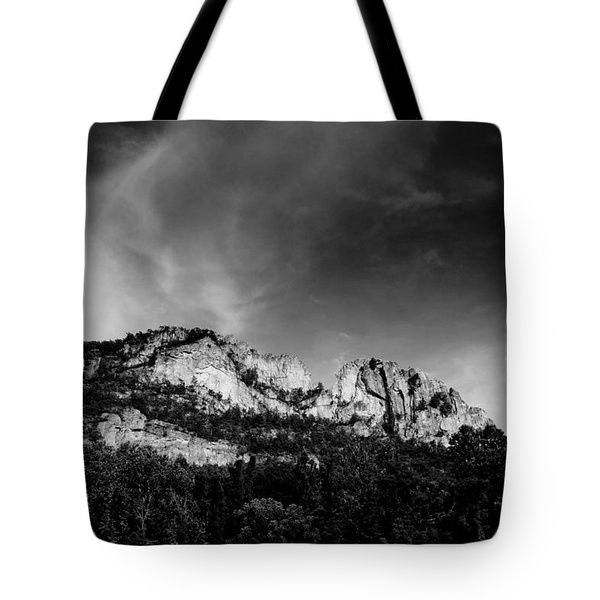 Seneca Rocks Tote Bag by Shane Holsclaw