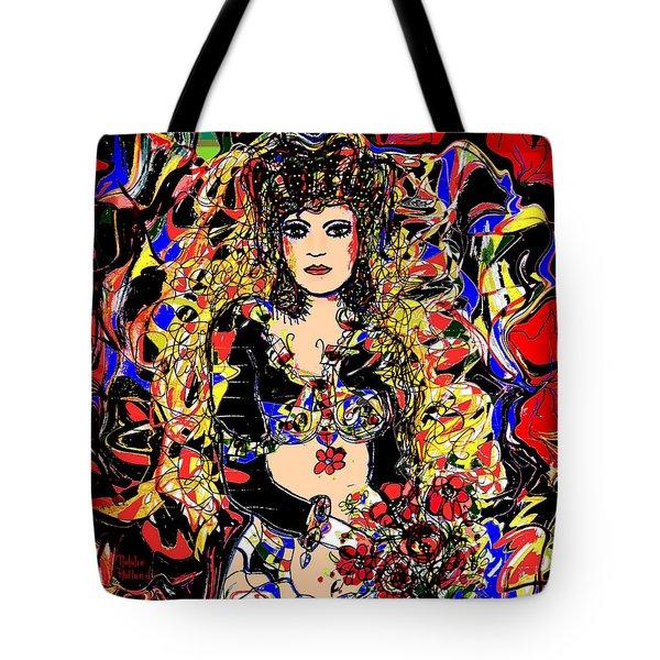 Senorita Florita Tote Bag by Natalie Holland