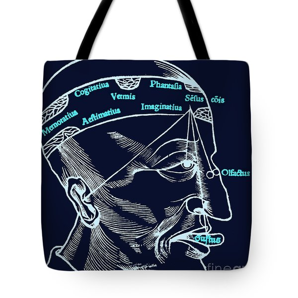 Senses And Sensation 16th Century Tote Bag by Science Source