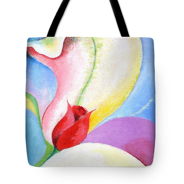 Sensitive Touch Tote Bag by Mary Armstrong