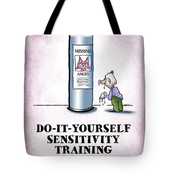 Sensitivity Training Tote Bag