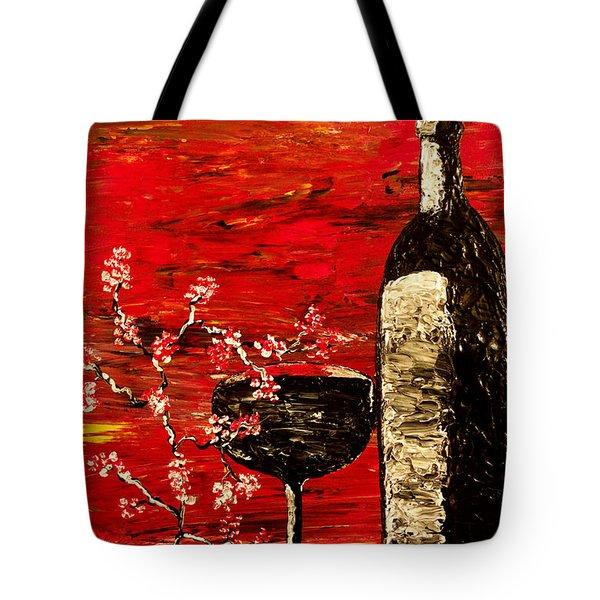 Sensual Awakening Tote Bag by Mark Moore