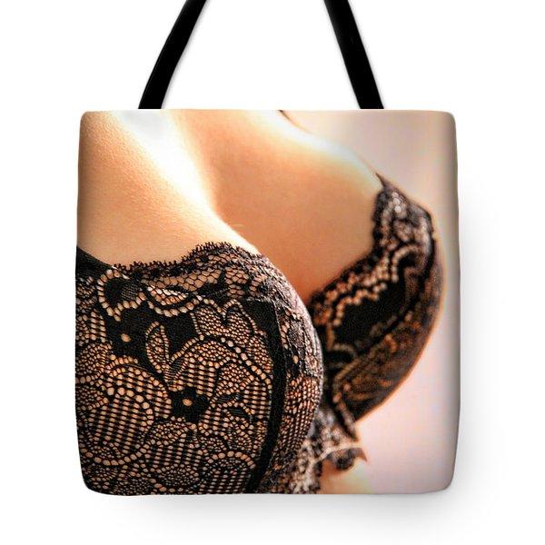 Sensual Lace Tote Bag