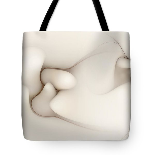 Tote Bag featuring the digital art Sensual Manifestations 4 by Casey Kotas