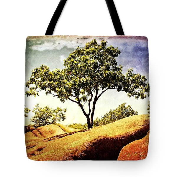 Sentinal Tree Tote Bag by Marty Koch
