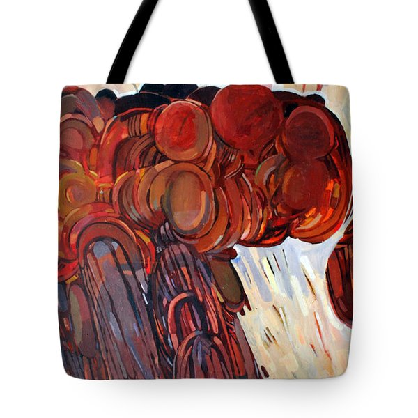 Separation Tote Bag by Mohamed Fadul