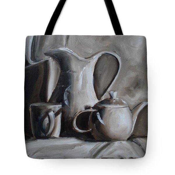 Sepia Still Life Tote Bag