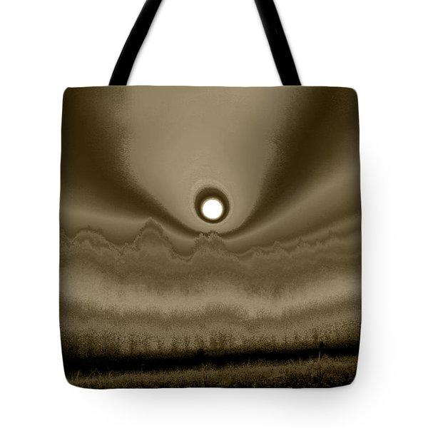Sepia Sunrise Tote Bag