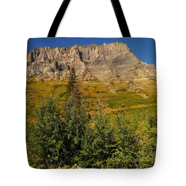 September At Glacier Tote Bag