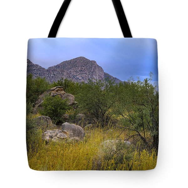 Tote Bag featuring the photograph September Oasis No.1 by Mark Myhaver